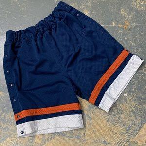 Nike Breakaway Mesh Basketball Shorts White Navy